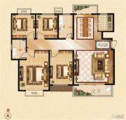 香山华府4室2厅2卫147平方米户型图