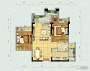 北大资源燕南2室2厅1卫64平方米户型图