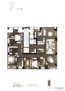 融创滨江壹号院4室3厅4卫0平方米户型图
