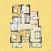 正商红河谷3室2厅2卫120平方米户型图