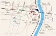长河湾独栋别墅交通图