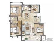 云鼎家园4室2厅2卫130平方米户型图