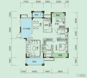 大洋五洲3室2厅2卫113平方米户型图