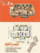 观岭高尔夫半山4室2厅2卫0平方米户型图