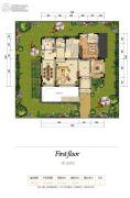 丽江花马溪谷II6室4厅6卫571平方米户型图
