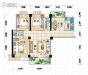 明珠广场3室2厅2卫119平方米户型图