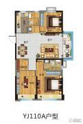 碧桂园・凤凰湾3室2厅2卫0平方米户型图