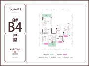 兴达・江山领秀3室2厅2卫129平方米户型图