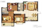 阳光尚苑2室2厅1卫91平方米户型图