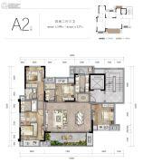 新城朗隽大都会4室2厅3卫117--144平方米户型图