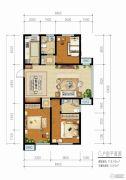 青啤・��悦湾3室2厅2卫118平方米户型图