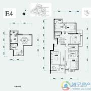 北辰香麓4室2厅3卫253平方米户型图