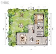 新城朗隽大都会5室1厅4卫161--167平方米户型图
