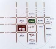 天煜・紫悦城交通图