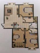 广厦黄金花园3室2厅2卫134平方米户型图