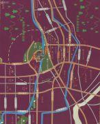 唐宁街1号交通图