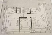 水湾19792室1厅2卫110平方米户型图