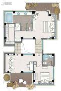 麓湖沉香谷2室1厅2卫0平方米户型图