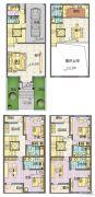 星威园 别墅5室2厅4卫314平方米户型图