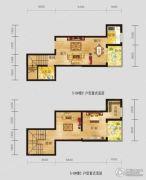 恩施国际商贸城1室1厅1卫94平方米户型图
