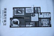 香格里拉花园2室2厅2卫116平方米户型图