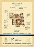 江景一品4室2厅2卫0平方米户型图