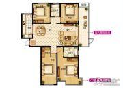 中楷信・斟酌4室2厅2卫171平方米户型图
