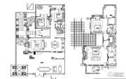 万科双月湾4室2厅3卫190平方米户型图