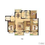 蓝光公园1号4室2厅2卫133平方米户型图