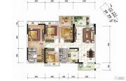 清泉城市广场4室2厅2卫0平方米户型图