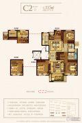 永晖・壹号院4室2厅2卫115平方米户型图