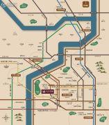 中国铁建花语佰骊交通图