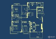 山水檀溪・山水家园3室2厅2卫137平方米户型图
