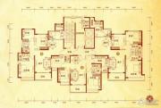沧州恒大城3室2厅2卫142平方米户型图
