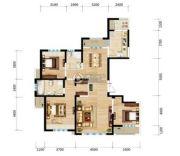 三江・尊园3室2厅2卫143平方米户型图