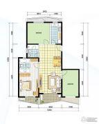阳光100国际新城3室2厅2卫101平方米户型图