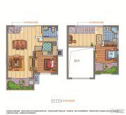联发欣悦华庭3室2厅2卫0平方米户型图
