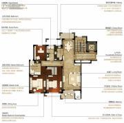 洛城中央御景3室2厅2卫162平方米户型图