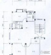 水岸帝景 高层3室2厅1卫95平方米户型图