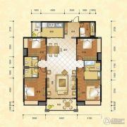 正升华府4室2厅3卫190--195平方米户型图