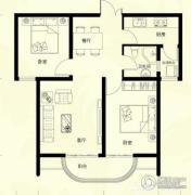 星河御城2室2厅1卫78平方米户型图