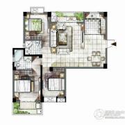 海西・未来区2室2厅2卫113平方米户型图