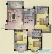 东方名城0室0厅0卫118平方米户型图