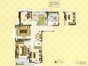 凤凰美地4室2厅1卫170平方米户型图