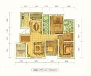 远洋戛纳小镇4室2厅2卫150平方米户型图
