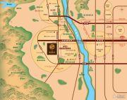 北京城建・龙樾西山交通图