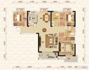 钓鱼台二期3室2厅2卫125平方米户型图