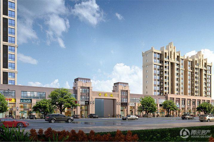 一期住宅总平面规划及建筑设计方案 入口透视图