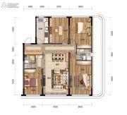 汇置尚都4室2厅2卫133平方米户型图