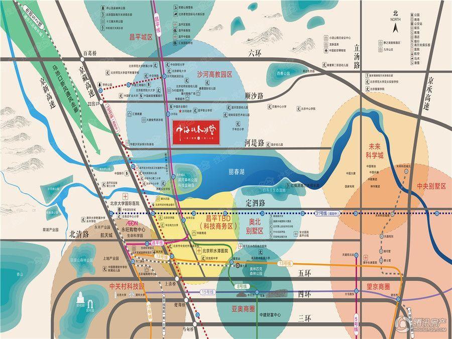 项目由北京中海宏业房地产开发有限公司开发,占地面积为120000平方米
